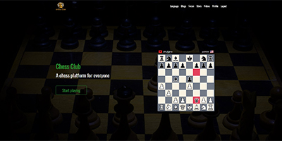 Chess Club - Laravel chess platform