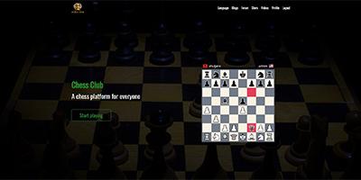 Chess Club - Laravel chess platform