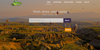 Crocko Link Premium URL Shortener