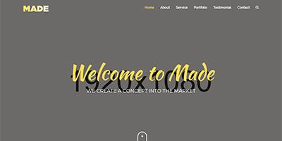 Made HTML Website